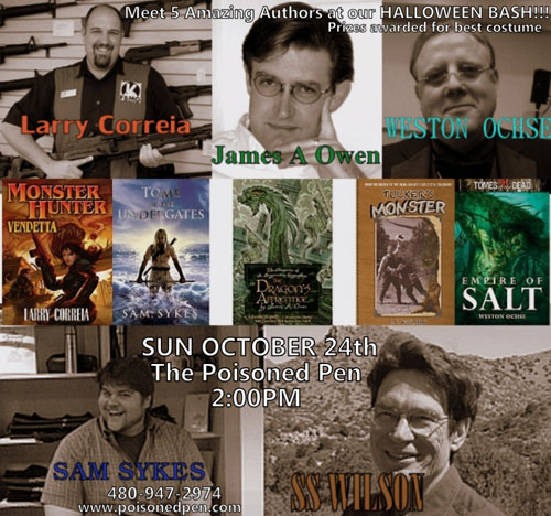 Poisoned Pen Halloween Author Event